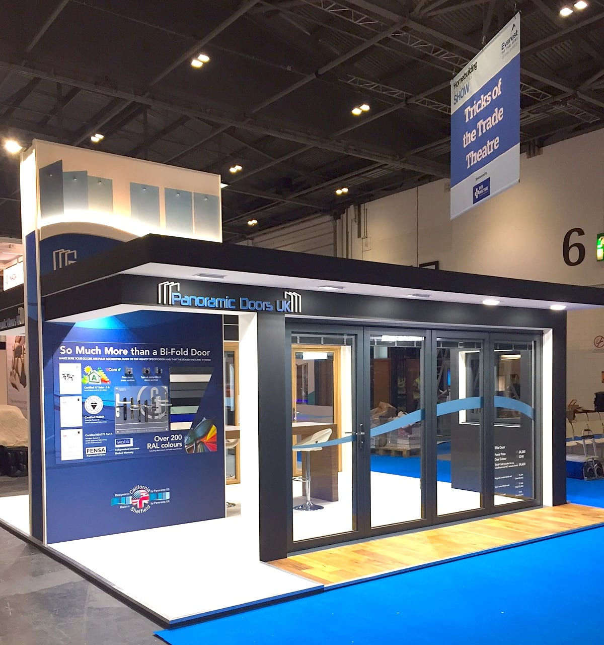 the hbr show 2017 come see us panoramic doors uk. Black Bedroom Furniture Sets. Home Design Ideas